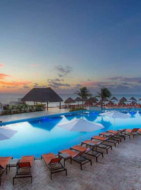 Most resorts that we book have beautiful pools.